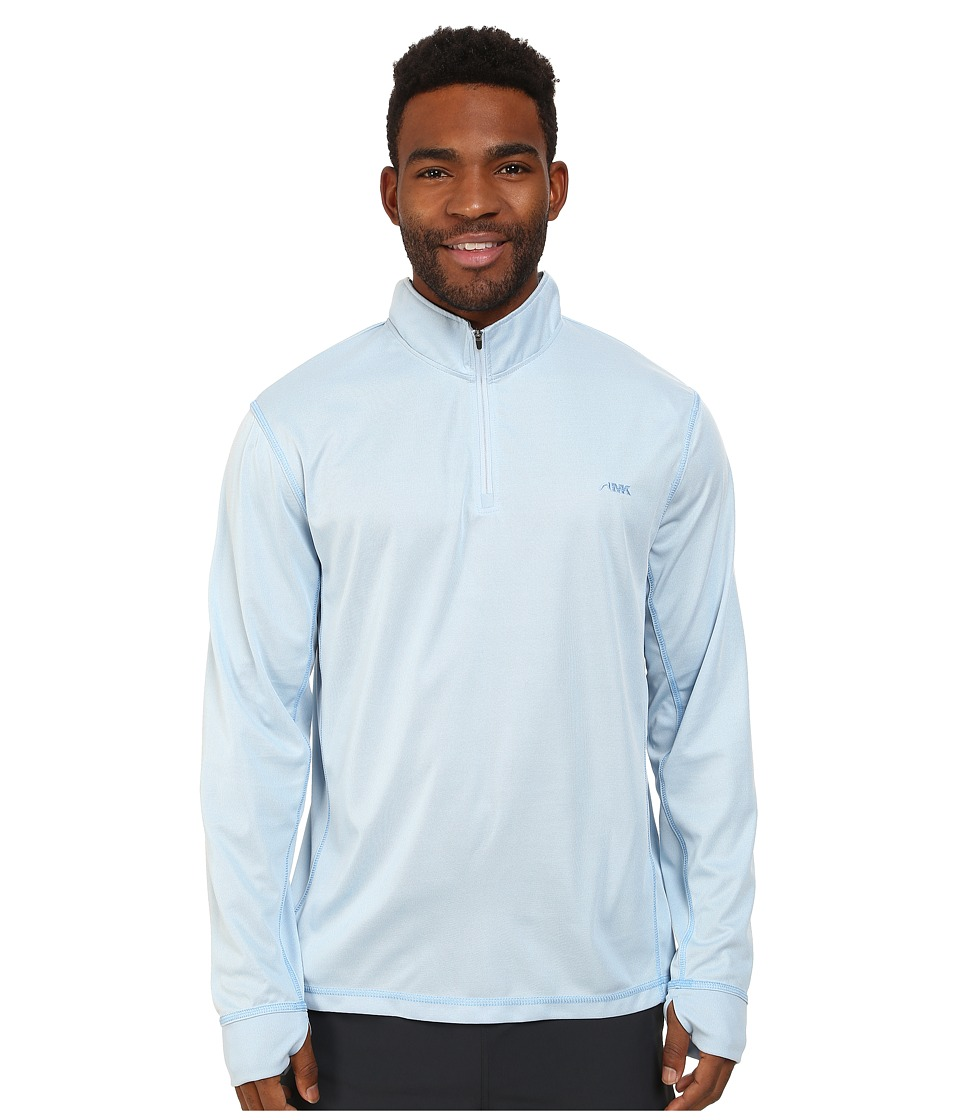 Mountain Khakis - Shady Cay Quarter Zip Shirt (Morning Sky) Men's T Shirt