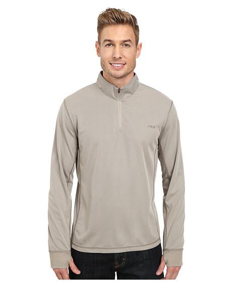 Mountain Khakis - Shady Cay Quarter Zip Shirt (Truffle) Men's T Shirt