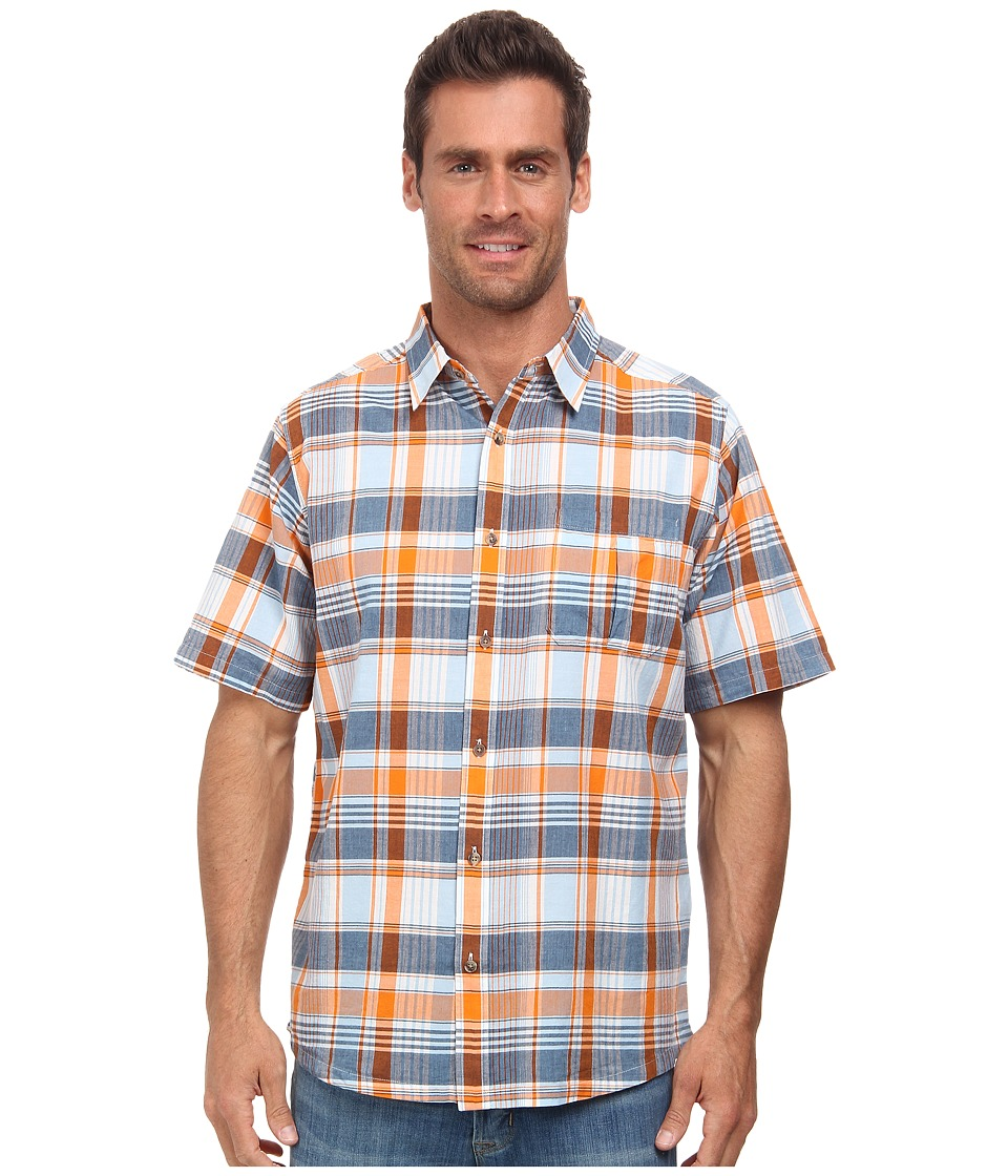 Mountain Khakis - Tomahawk Madras Shirt (Cantaloupe Multi) Men