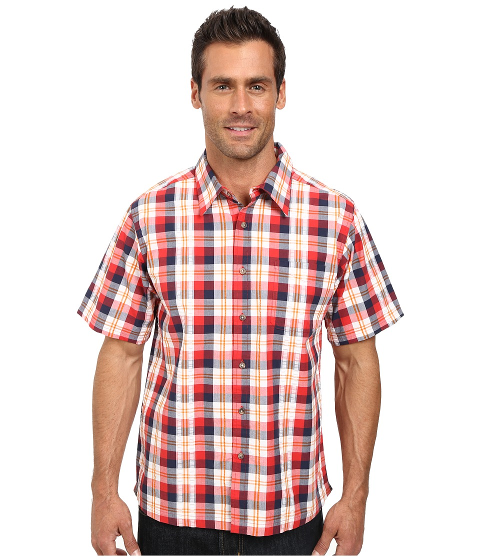 Mountain Khakis - Deep Creek Crinkle Shirt (Siren Multi) Men's Short Sleeve Button Up
