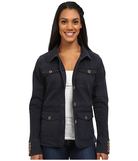 Mountain Khakis - Silver Dollar Jacket (Midnight Blue) Women's Coat