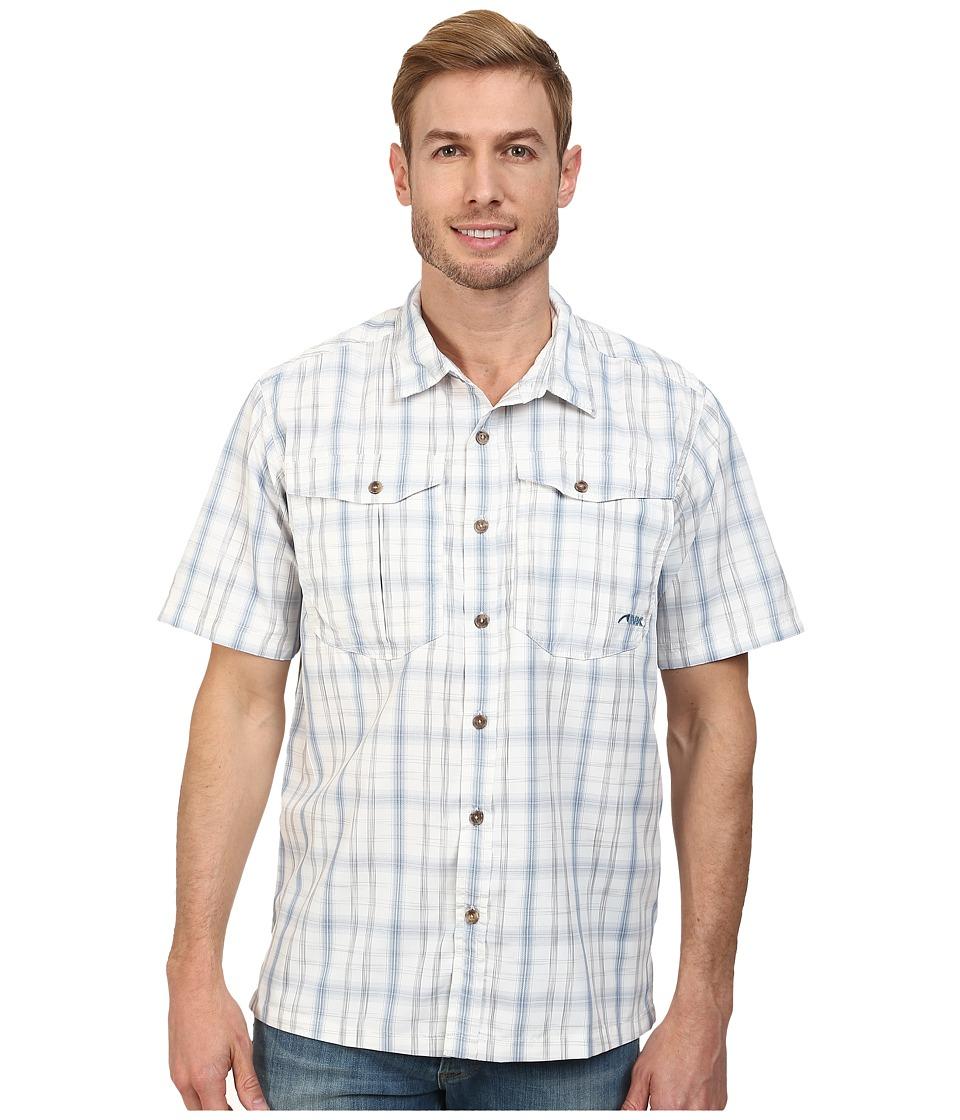Mountain Khakis - Equatorial S/S Shirt (High Tide Plaid) Men