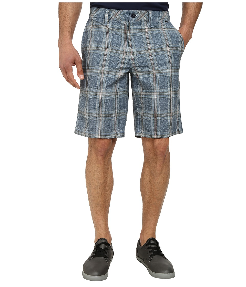 TravisMathew - Charles Short (Iris Plaid) Men's Shorts