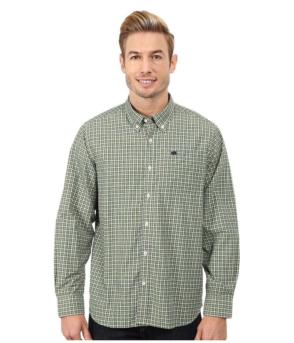 Mountain Khakis - Spalding Gingham Shirt (Evergreen/Clear Blue) Men's T Shirt