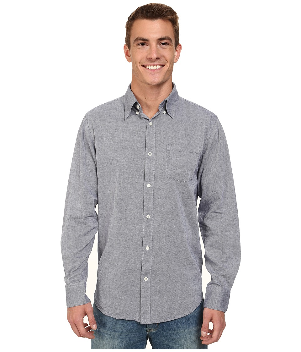 Mountain Khakis - Davidson Oxford Shirt (Blue Work) Men's T Shirt