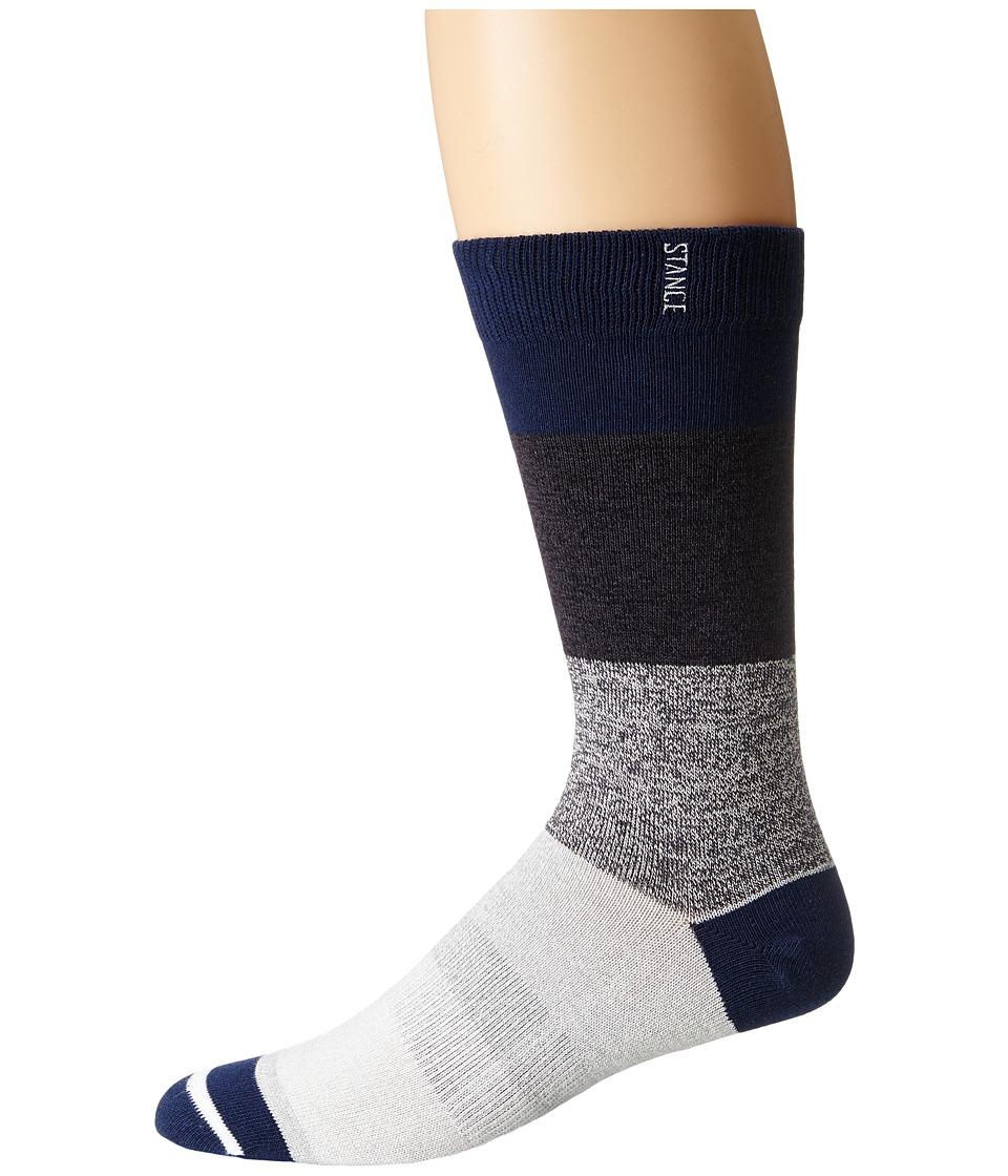TravisMathew - Fox Sock (Iris) Men's Crew Cut Socks Shoes