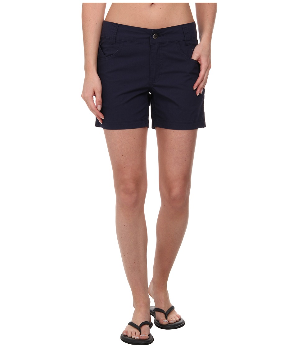 Mountain Khakis - Stretch Poplin Short (Midnight Blue) Women's Shorts