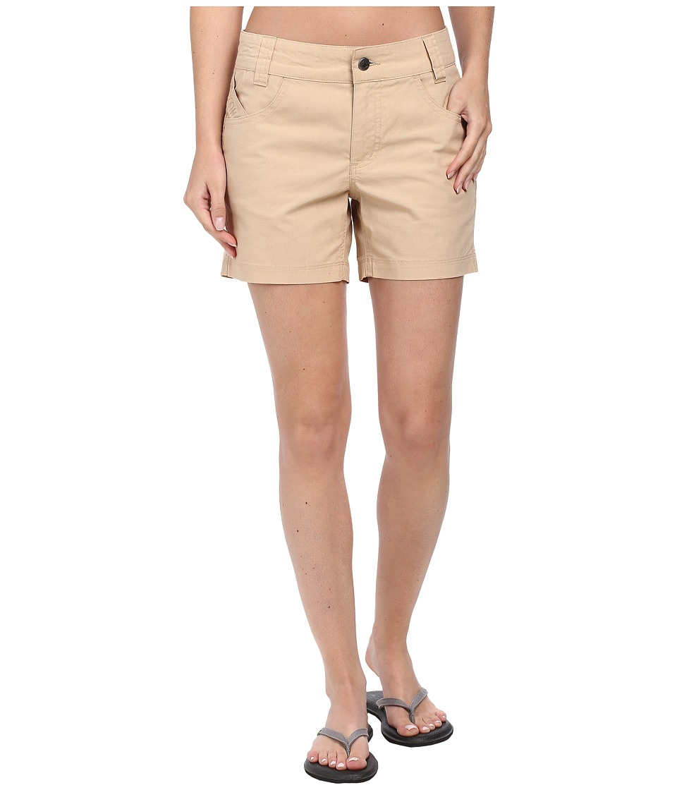 Mountain Khakis - Stretch Poplin Short (Khaki) Women's Shorts