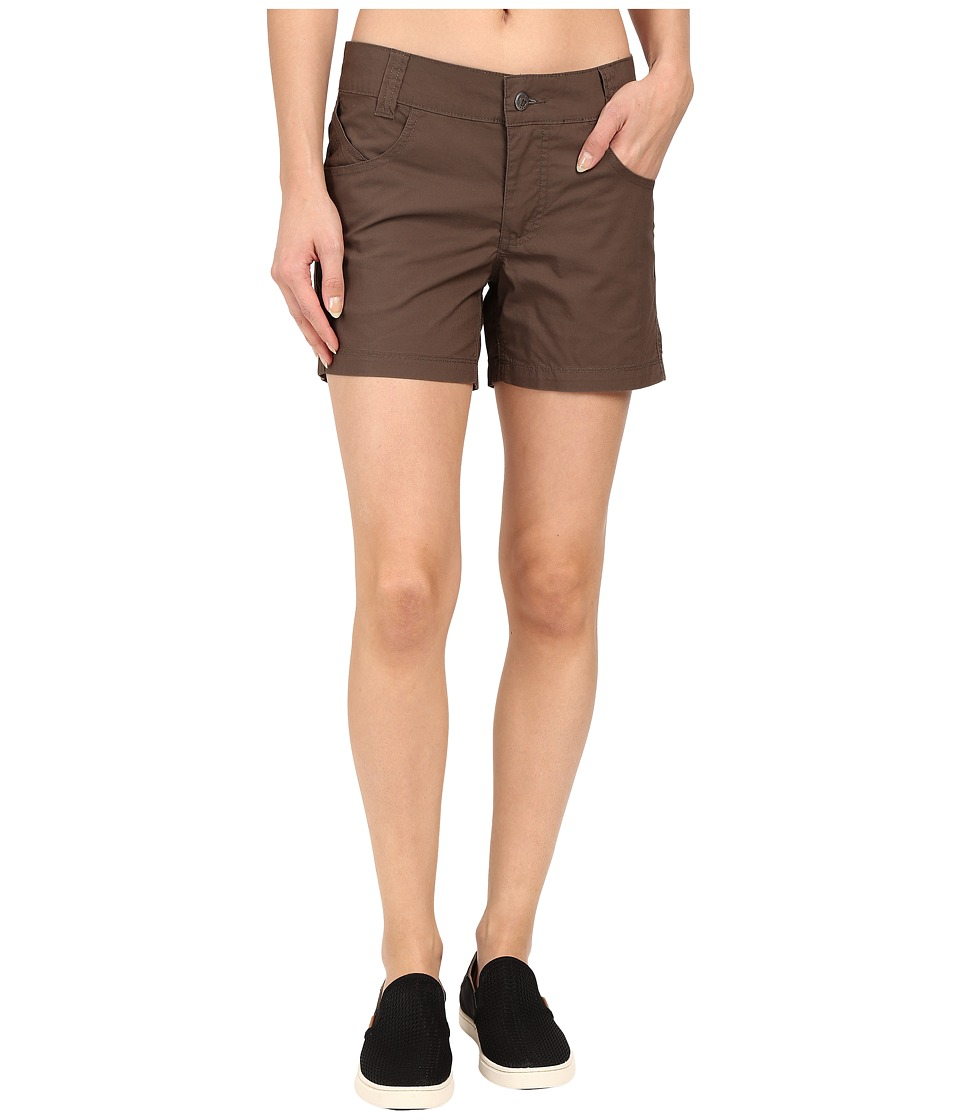 Mountain Khakis - Stretch Poplin Short (Terra) Women's Shorts