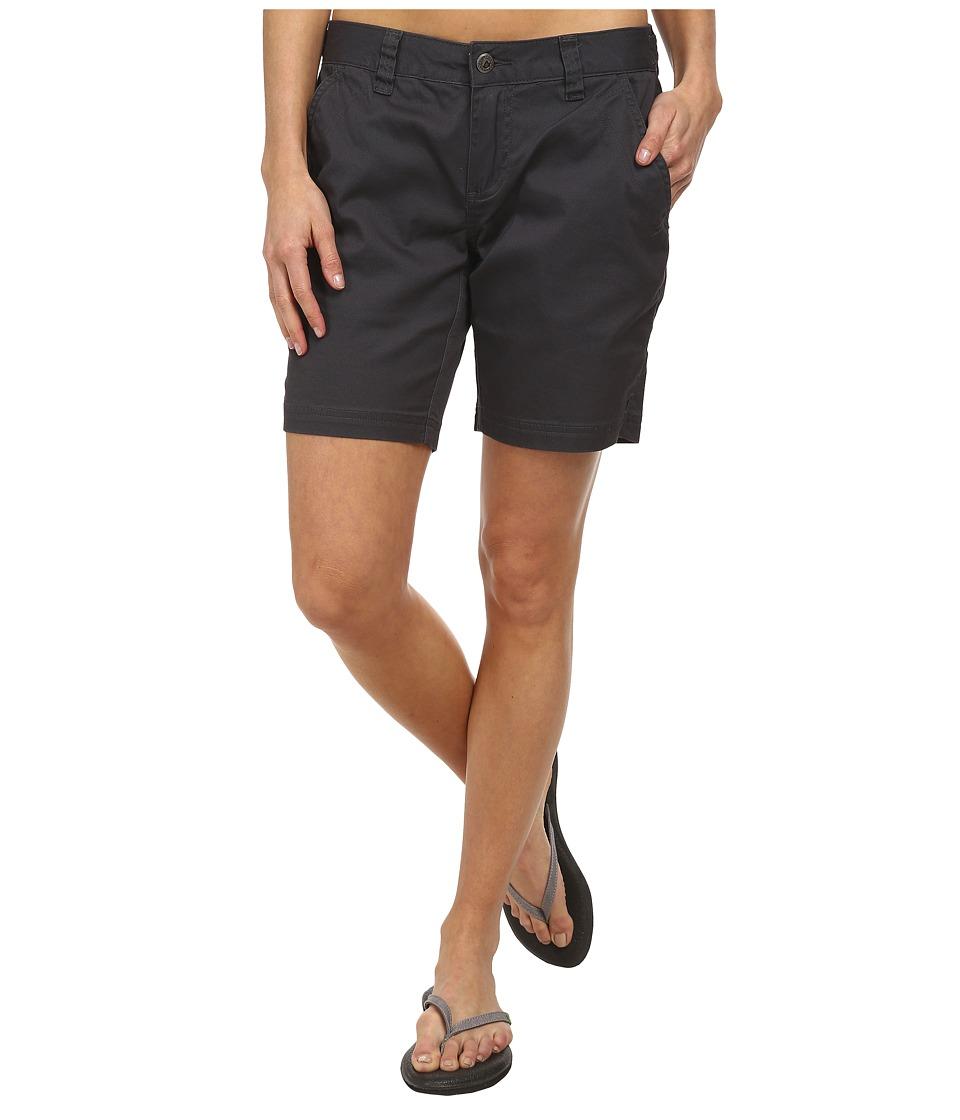 Mountain Khakis - Lake Lodge Twill Short (Granite) Women's Shorts