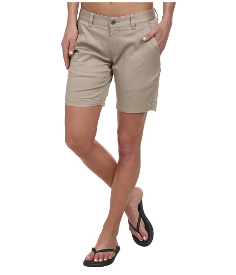 Mountain Khakis - Lake Lodge Twill Short (Classic Khaki) Women