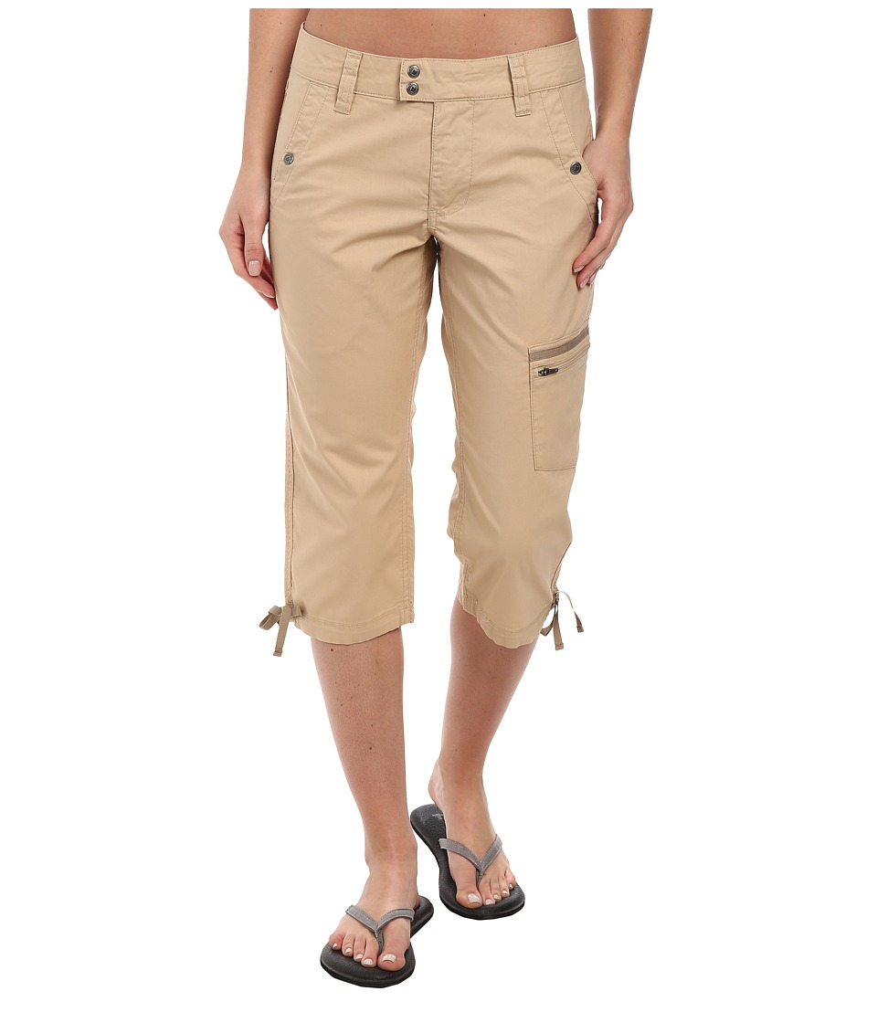 Mountain Khakis - Stretch Poplin Capri (Khaki) Women's Capri