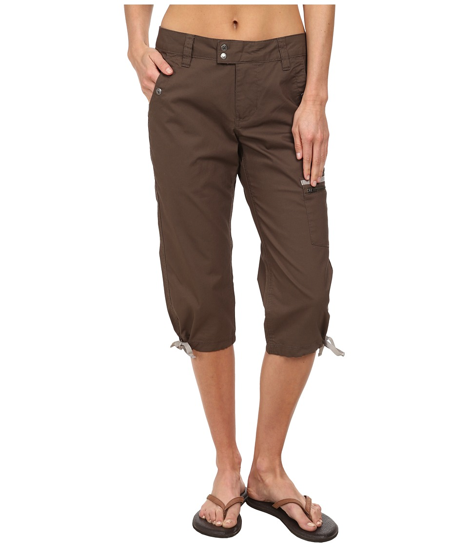 Mountain Khakis - Stretch Poplin Capri (Terra) Women's Capri
