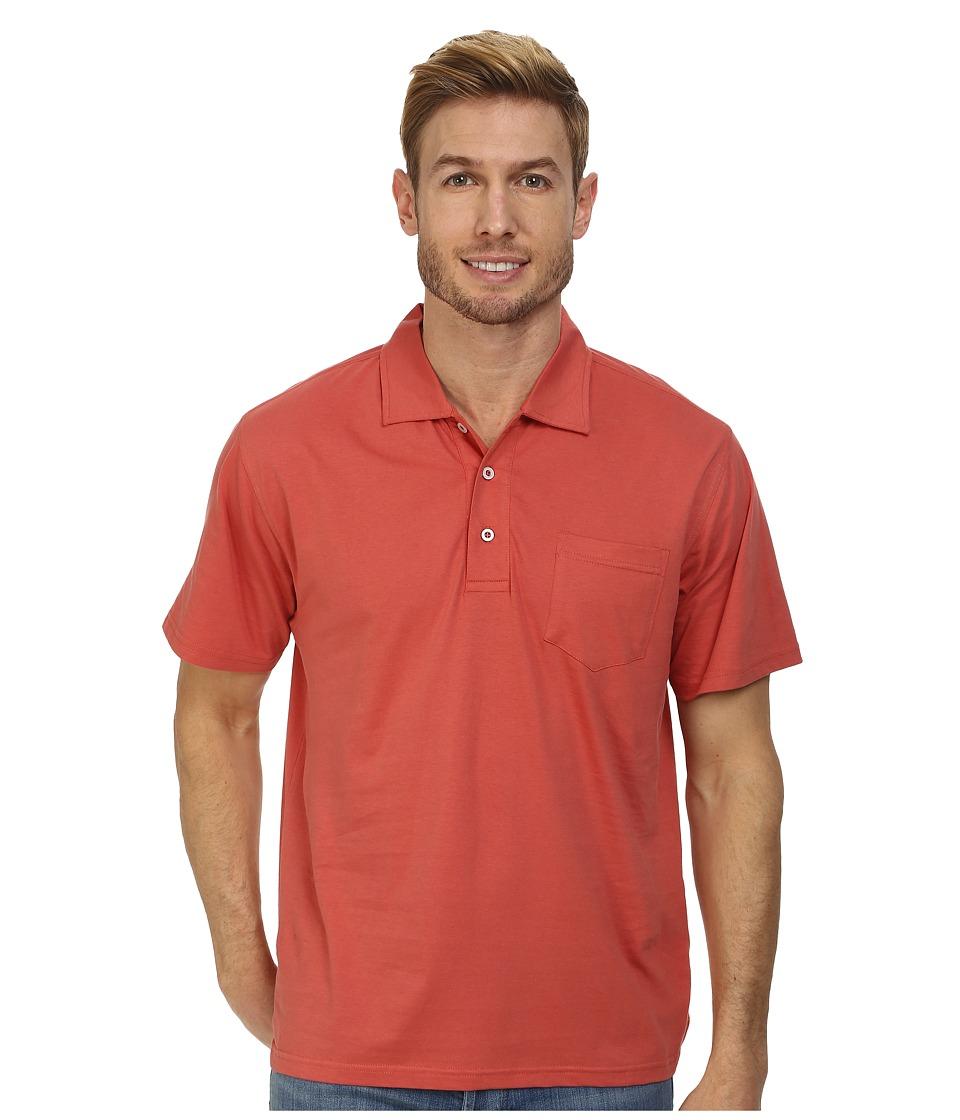 Mountain Khakis - Patio Polo Shirt (Summer Red) Men's Short Sleeve Pullover