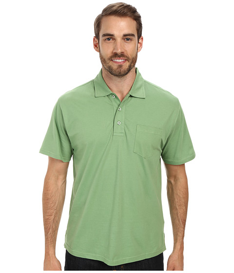 Mountain Khakis - Patio Polo Shirt (Mint) Men