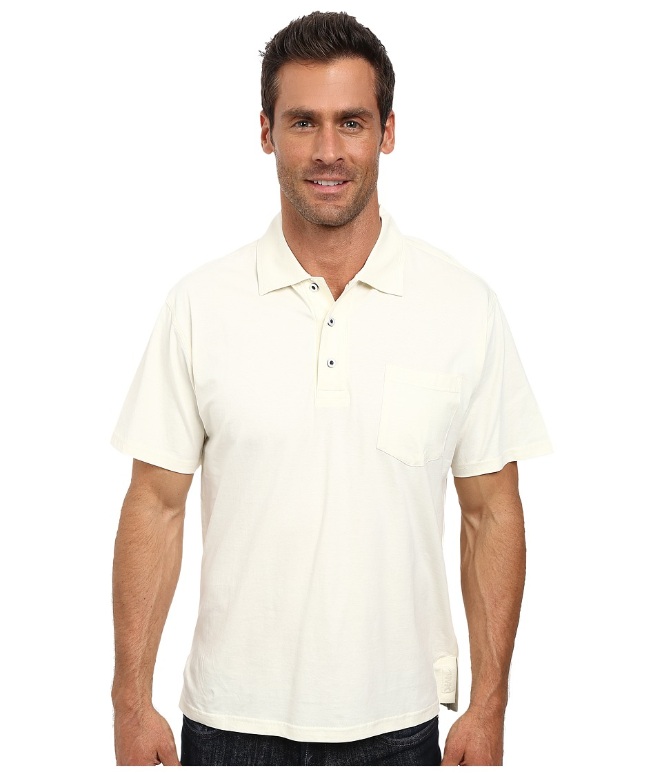 Mountain Khakis - Patio Polo Shirt (Linen) Men's Short Sleeve Pullover
