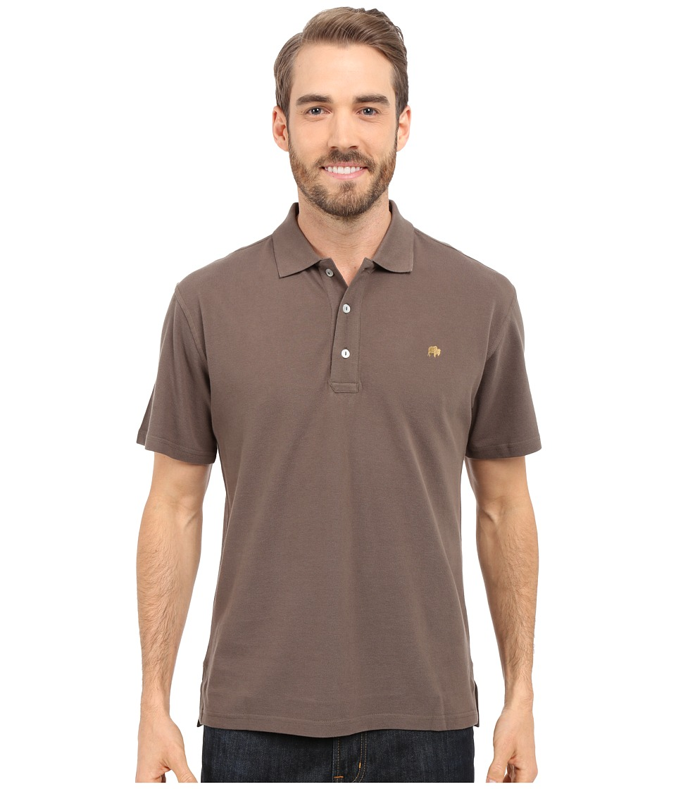Mountain Khakis - Bison Polo Shirt (Terra) Men's Short Sleeve Pullover