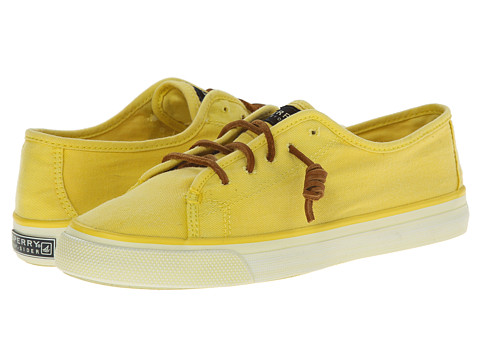 Sperry Top-Sider - Seacoast Washed (Yellow) Women's Shoes