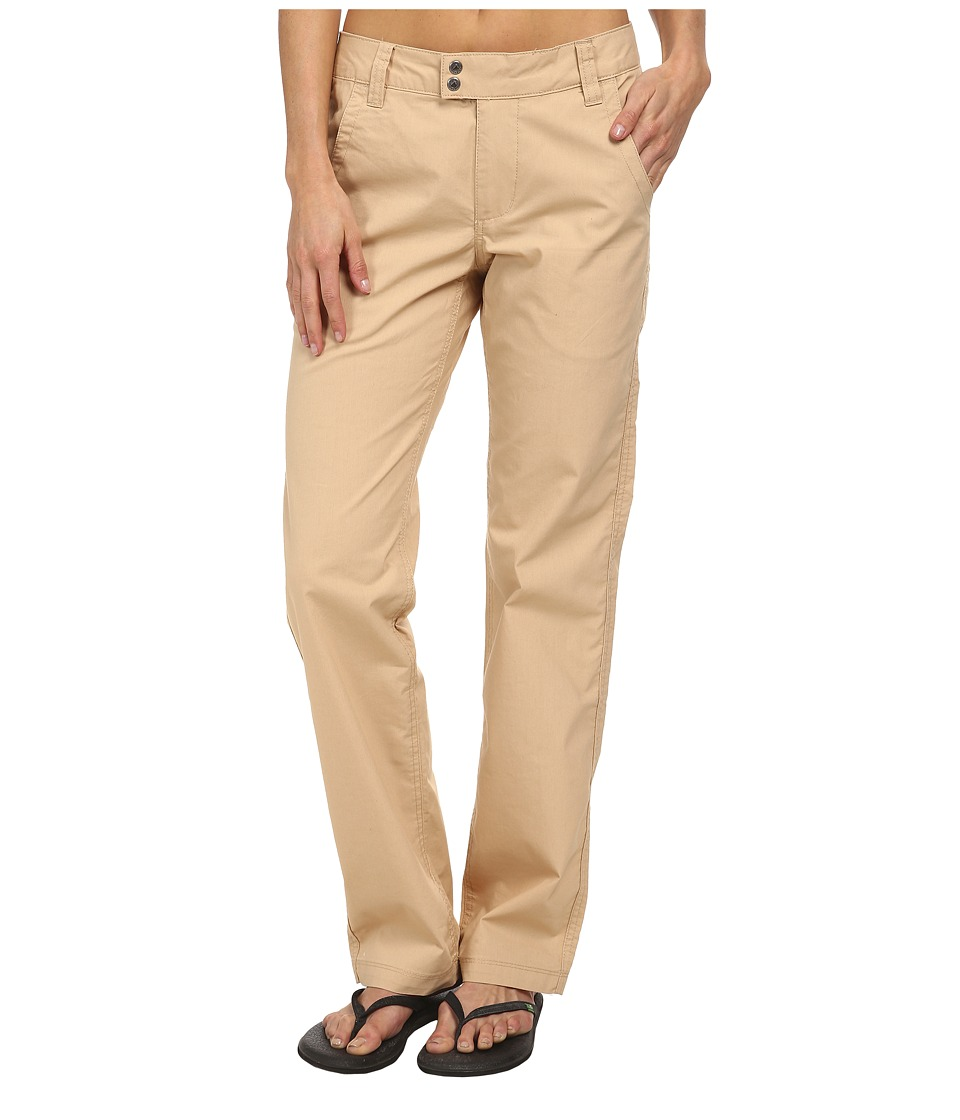 Mountain Khakis - Stretch Poplin Pant (Khaki) Women's Casual Pants