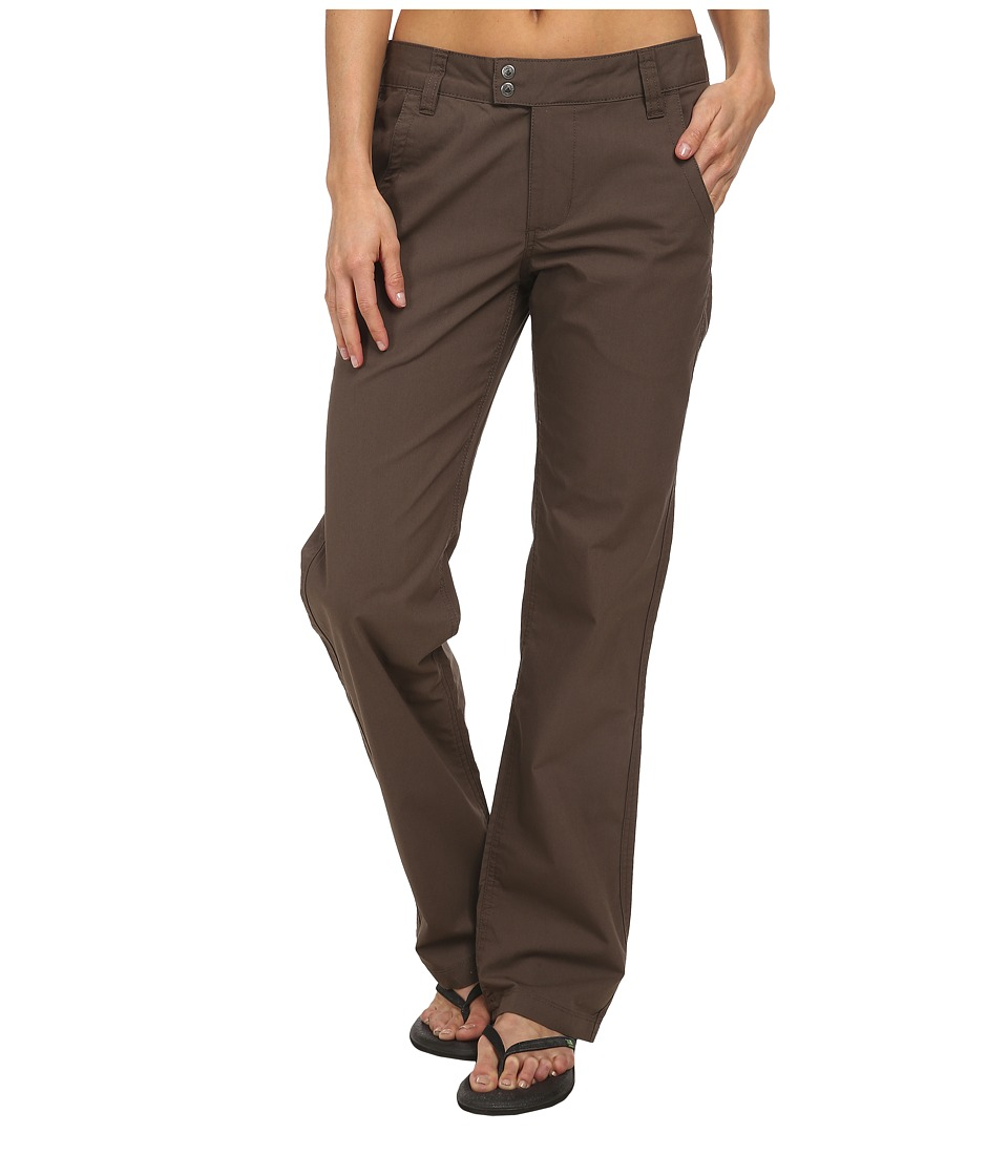 Mountain Khakis - Stretch Poplin Pant (Terra) Women's Casual Pants