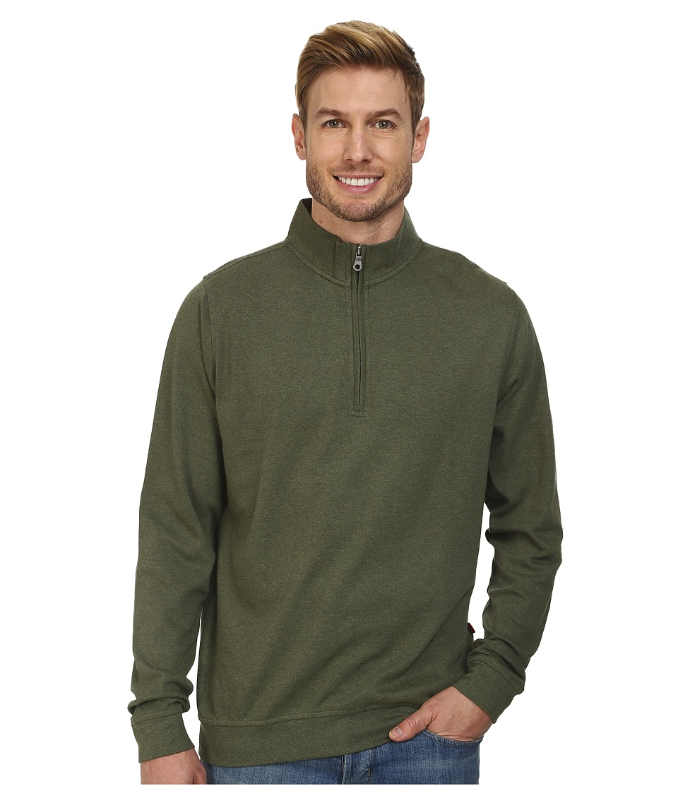 Mountain Khakis - Eagle Quarter Zip Jacket (Pine) Men's Coat