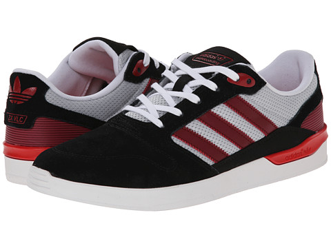 adidas Skateboarding - ZX Vulc (Core Black/Nomad Red/Scarlet) Men