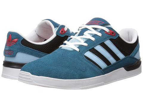 adidas Skateboarding - ZX Vulc (Surf Petrol/Blush Blue/Core Black) Men