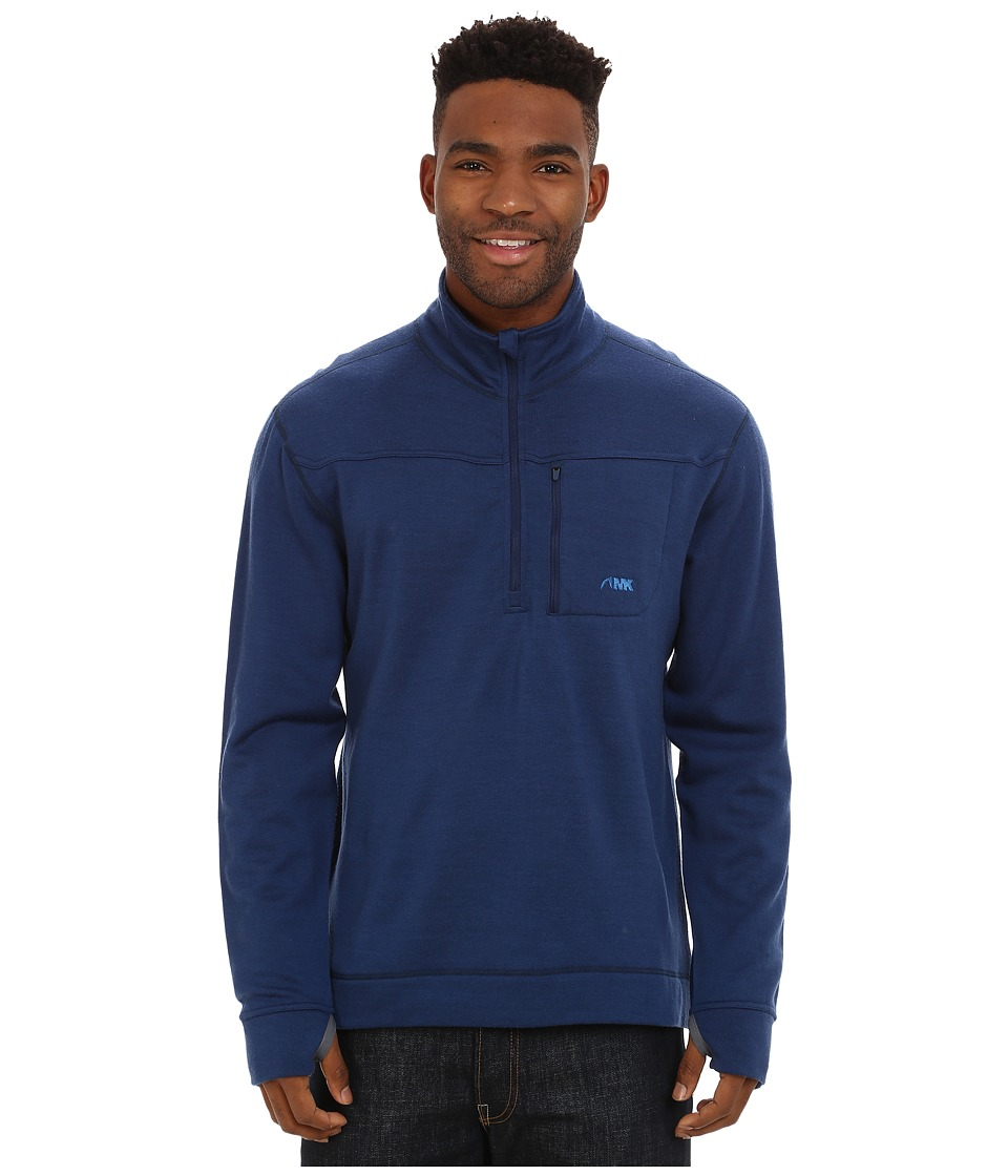 Mountain Khakis - Rendezvous Quarter Zip Shirt (Clear Blue) Men