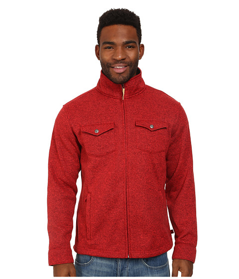 Mountain Khakis - Old Faithful Sweater (Engine Red) Men