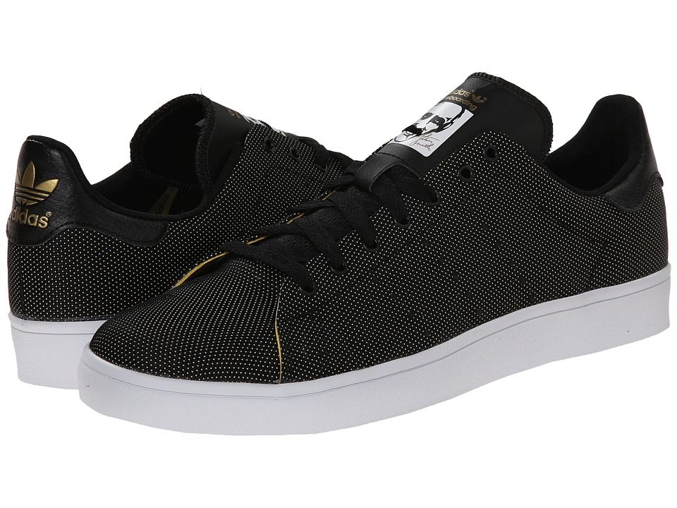 adidas Skateboarding - Stan Smith (Core Black/Solid Grey/White) Men's Skate Shoes