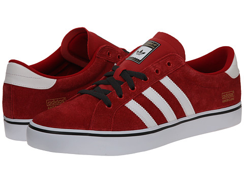 adidas Skateboarding - Americana Low (Power Red/White/Carbon) Men