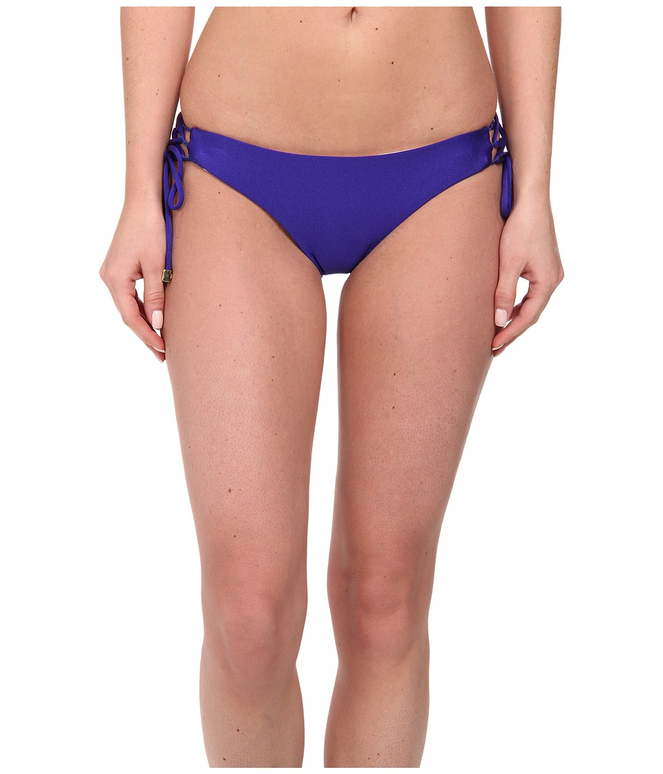 Shoshanna - Lace Up Bottom (Klein Blue Toscano) Women's Swimwear