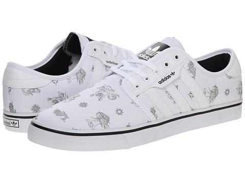 adidas Skateboarding - Seeley (White/Solid Grey/Core Black) Men's Skate Shoes