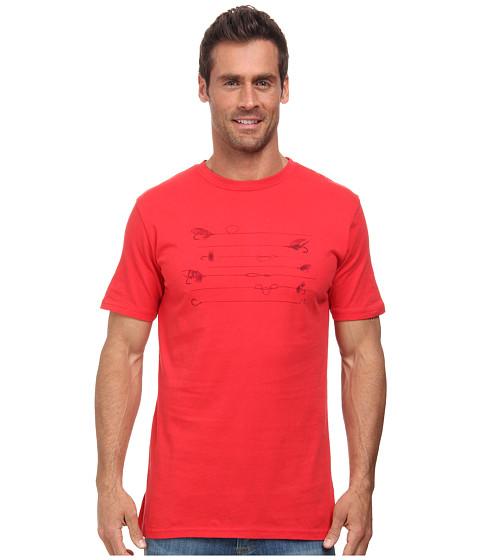 Mountain Khakis - Angler Short Sleeve Shirt (Red Pepper) Men