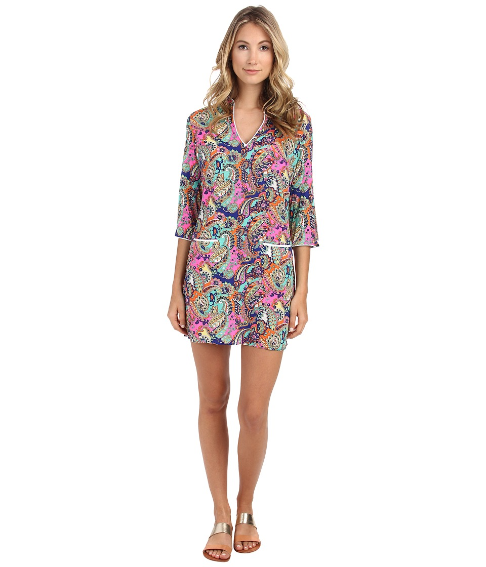 Shoshanna - Beach Tunic 8692065 (Neon Pink Multi) Women