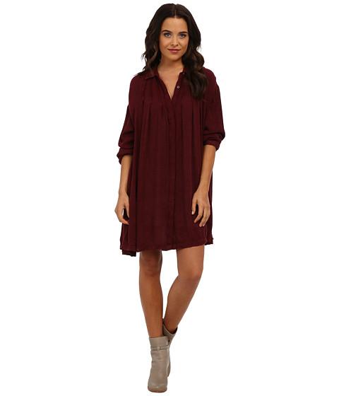 Free People - Snap Out Of It Button-Down (Shiraze) Women's Dress