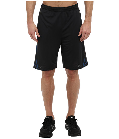 ASICS - X-Flexer Short (Jet Black/Electric) Men's Shorts