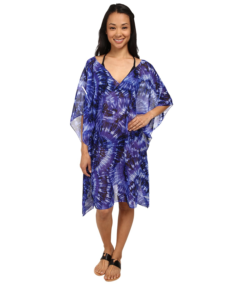Miraclesuit - Fan Dance Caftan Cover-Up (Eggplant) Women