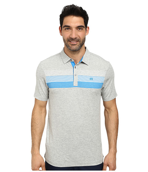 TravisMathew - The Elevator Polo (Heather Grey) Men