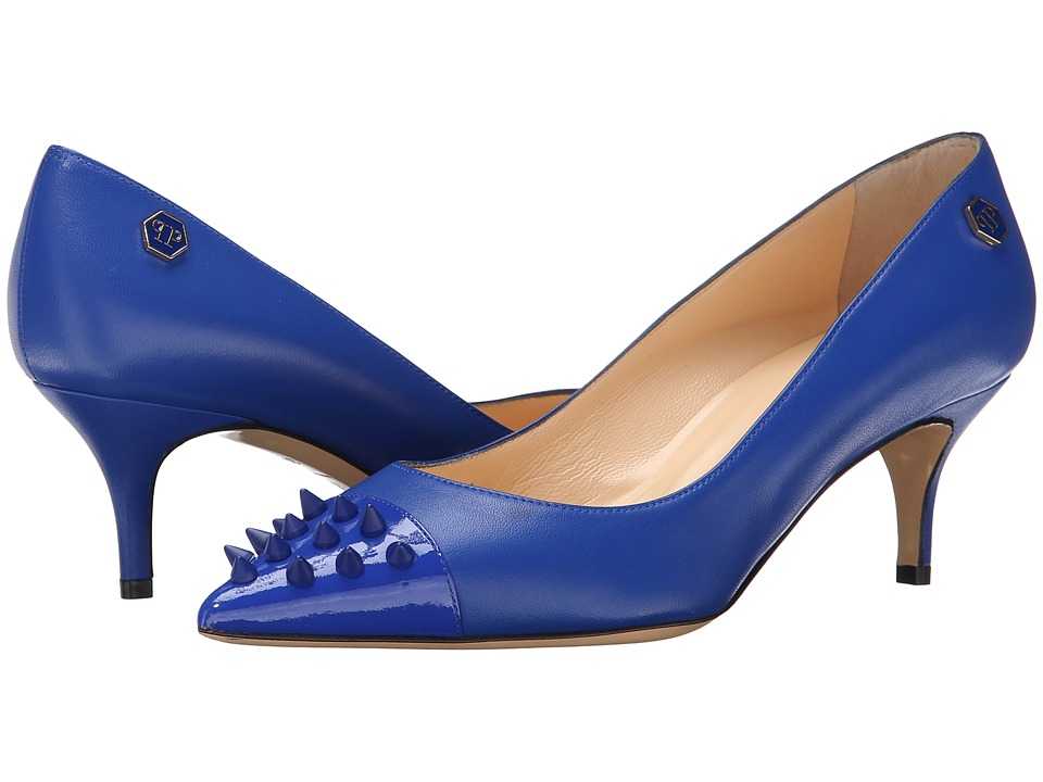 Philipp Plein - Comfy High Heels (Dark Blue) High Heels