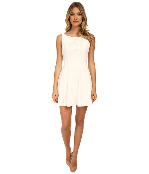 Philipp Plein - Like a Bomb Dress (White) Women's Dress