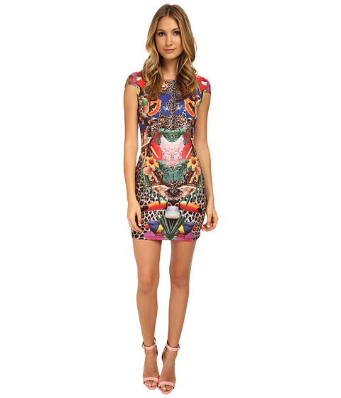 Philipp Plein - I'm Jersey Dress (Summer Flowers) Women's Dress