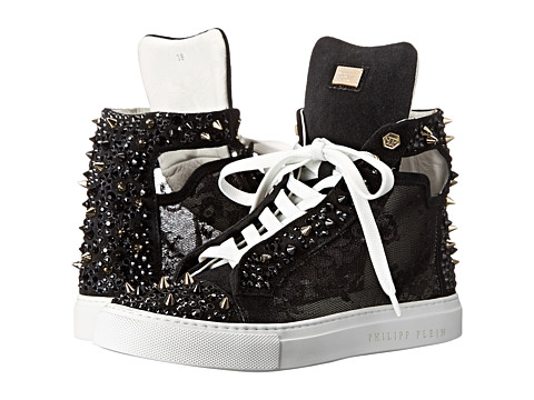 Philipp Plein - Sexy Sneakers (Black) Women's Lace up casual Shoes
