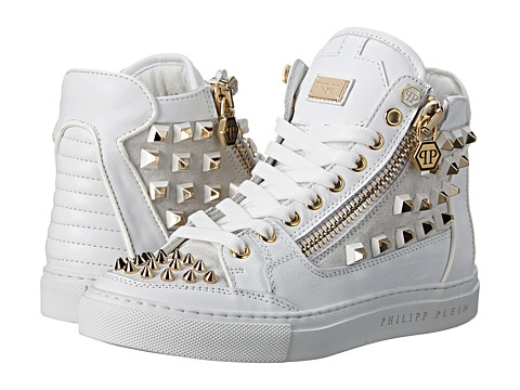 Philipp Plein - My Style Sneakers (White) Women's Lace up casual Shoes