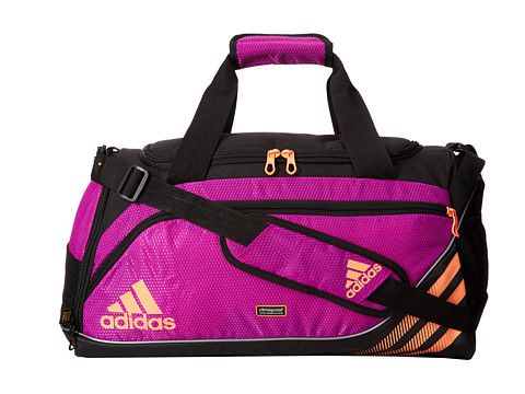 adidas - Team Speed Duffel Small (Flash Pink/Flash Orange) Duffel Bags