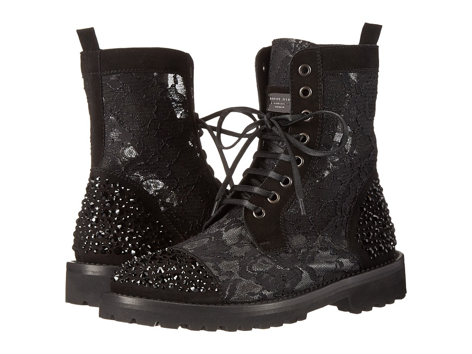 Philipp Plein - Gentle Killer Boots (Black) Women