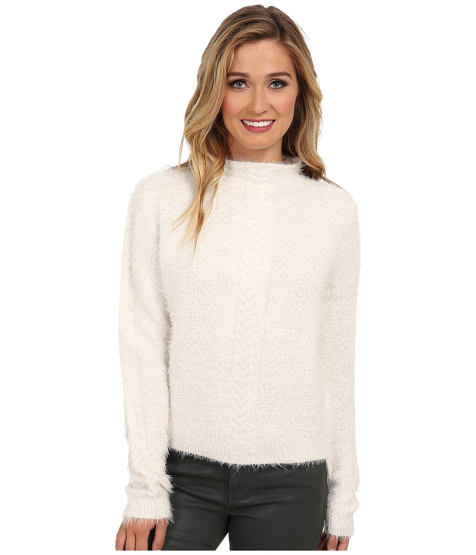 French Connection - Fast Feather Knits 78CXH (White Hare) Women