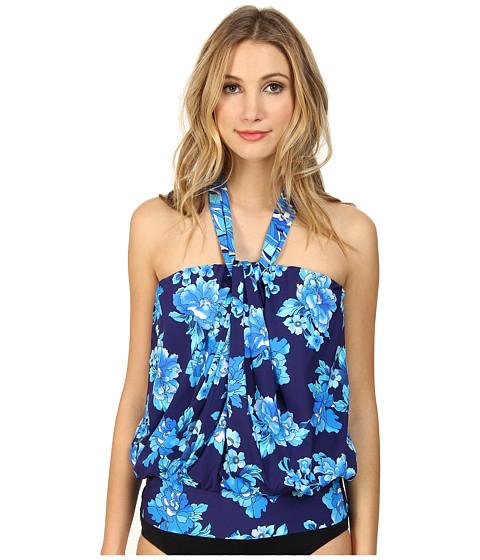 Miraclesuit - Viva La Paris Mojito Top (Blue) Women's Swimwear