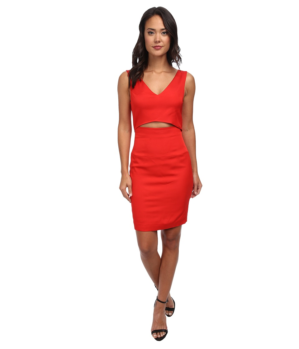 French Connection - Glamour Stretch Dress 71CSW (Royal Scarlet) Women's Dress