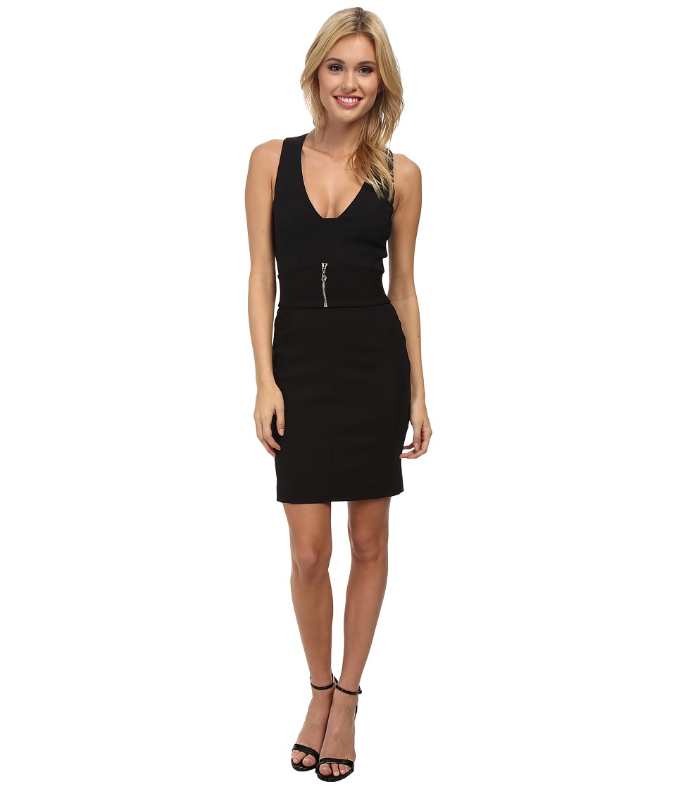 French Connection - Romeo Stretch Dress 71CSF (Black Multi) Women's Dress
